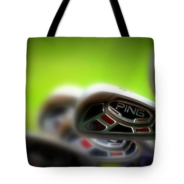 Golf Clubs 2 Tote Bag