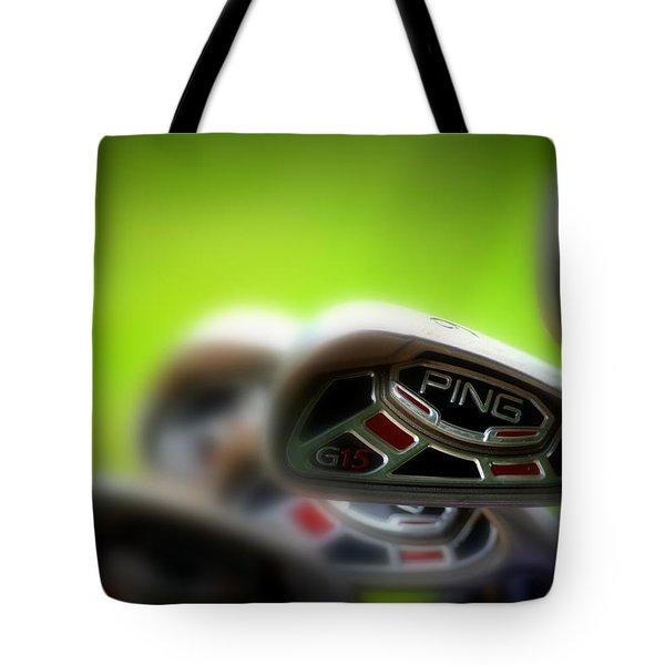 Golf Clubs 2 Tote Bag