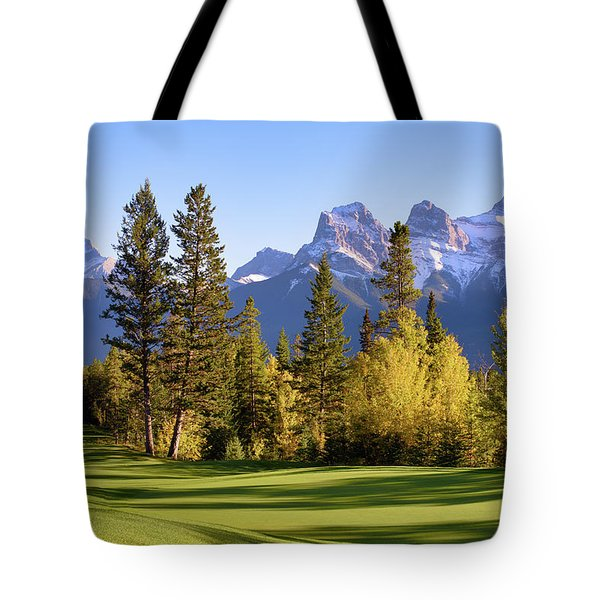 Silvertip Golf Course Tote Bag