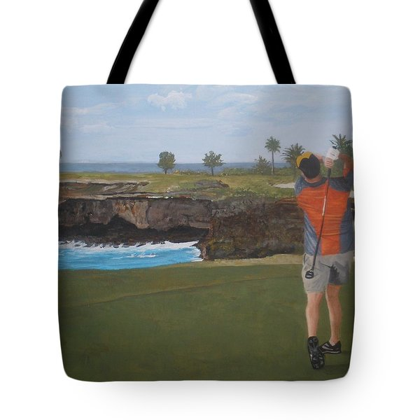 Golf Day Tote Bag