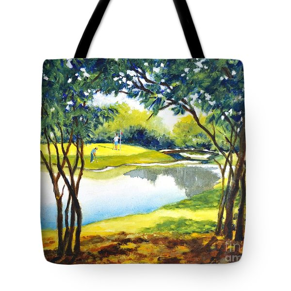 Golf Haven Tote Bag