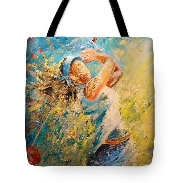 Golf Passion Tote Bag