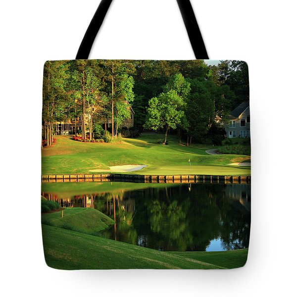 Golf The Landing #3 Reynolds Plantation Lake Oconee Ga Art Tote Bag