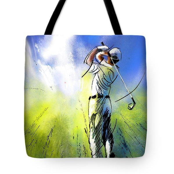 Golfscape 01 Tote Bag