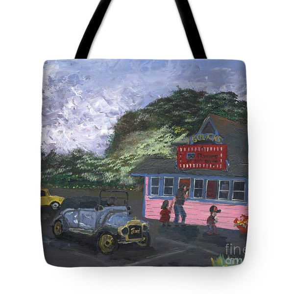 Golicks Ice Cream Tote Bag