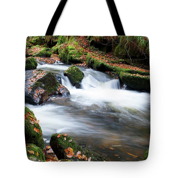 Golitha Falls IIi Tote Bag by Helen Northcott