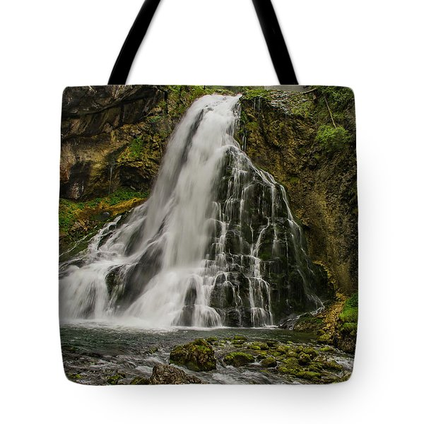 Golling Falls Tote Bag by Ulrich Burkhalter