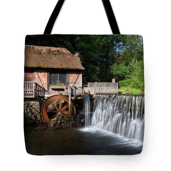 Gomez Mill In Spring #1 Tote Bag by Jeff Severson