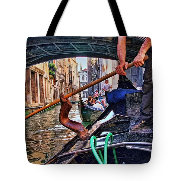 Tote Bag featuring the photograph Gondola 2 by Allen Beatty