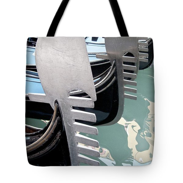 Gondola In Line Tote Bag by Heiko Koehrer-Wagner
