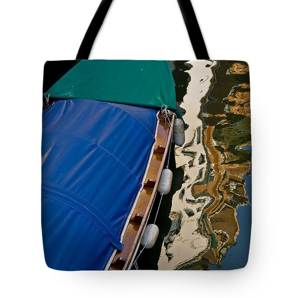 Gondola Reflection Tote Bag