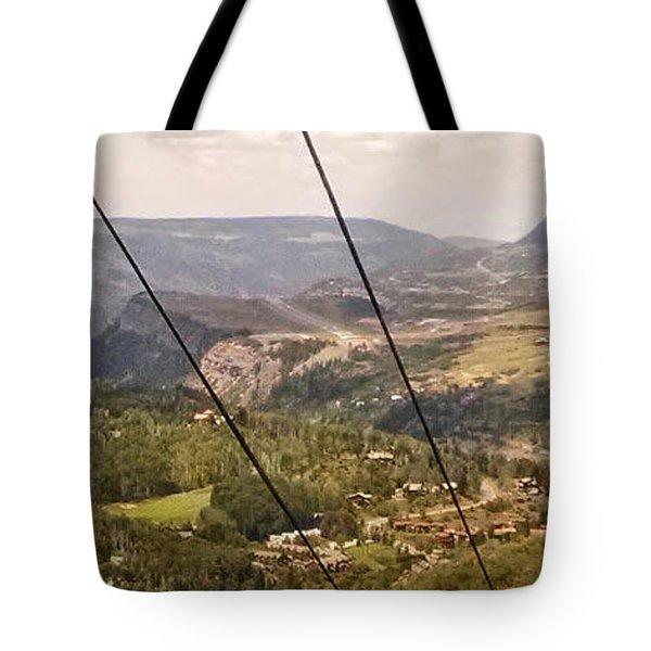 Gondola Ride Tote Bag
