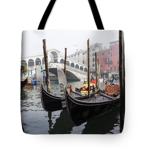 Gondole A Rialto 6948 Tote Bag