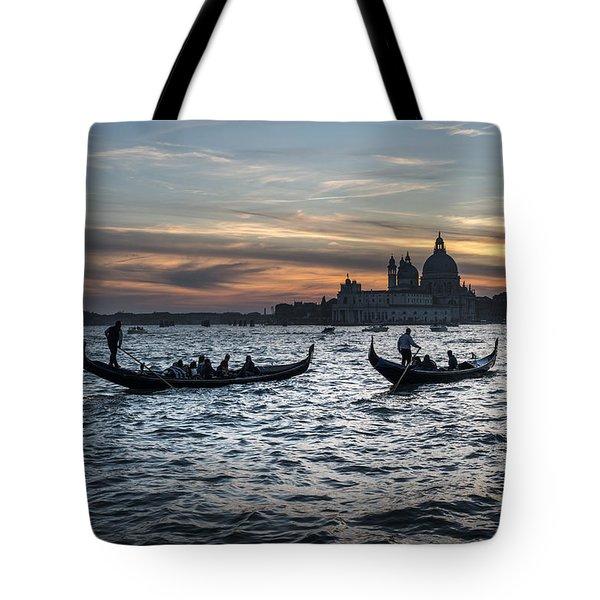 Gondole Al Tramonto Sam210x Tote Bag
