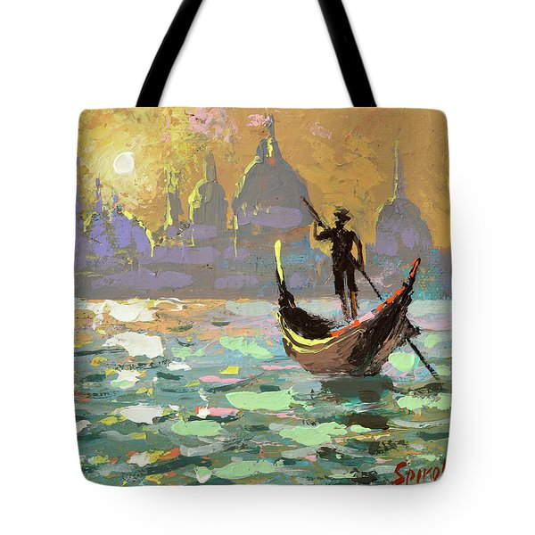 Gondolier Tote Bag