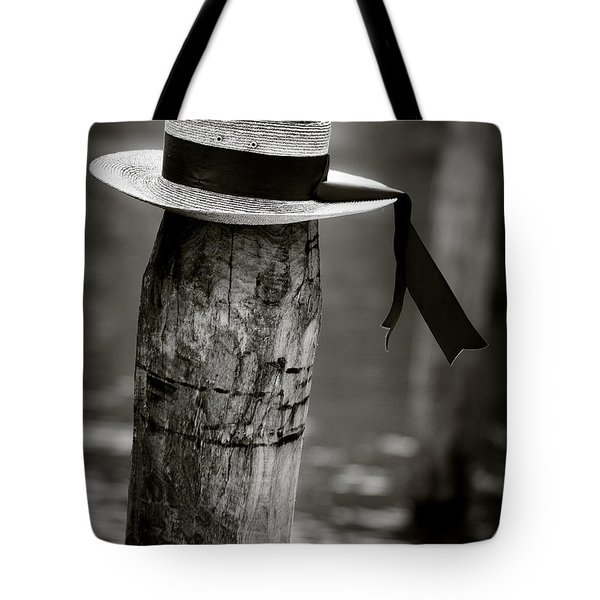 Gondolier Hat Tote Bag by Dave Bowman
