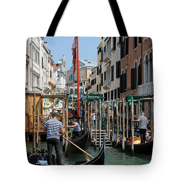 Gondoliers Tote Bag