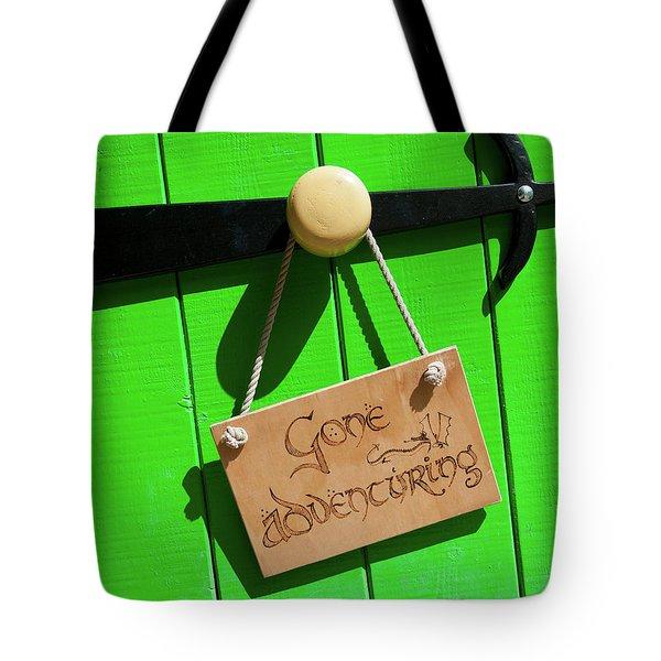 Gone Adventuring Tote Bag