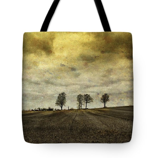 Tote Bag featuring the photograph Gone Are Our Days Of Happiness.... by Russell Styles