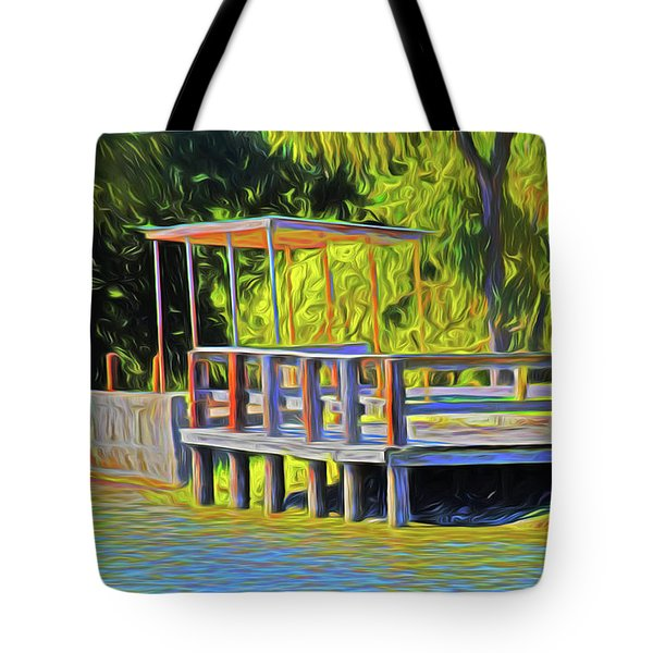 Gone Fishing 18-11 Tote Bag