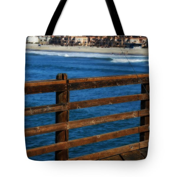 Gone Fishing In Color Tote Bag