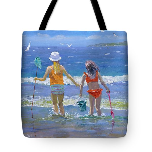 Gone Fishing  Tote Bag by William Ireland