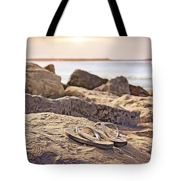 Gone Surfin' Tote Bag