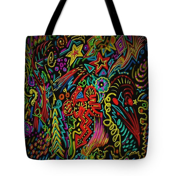 Gone Wild Tote Bag by Kevin Caudill