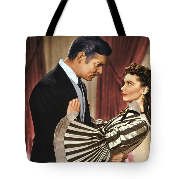 Gone With The Wind - 1939 - Completely Retouched In Color Tote Bag