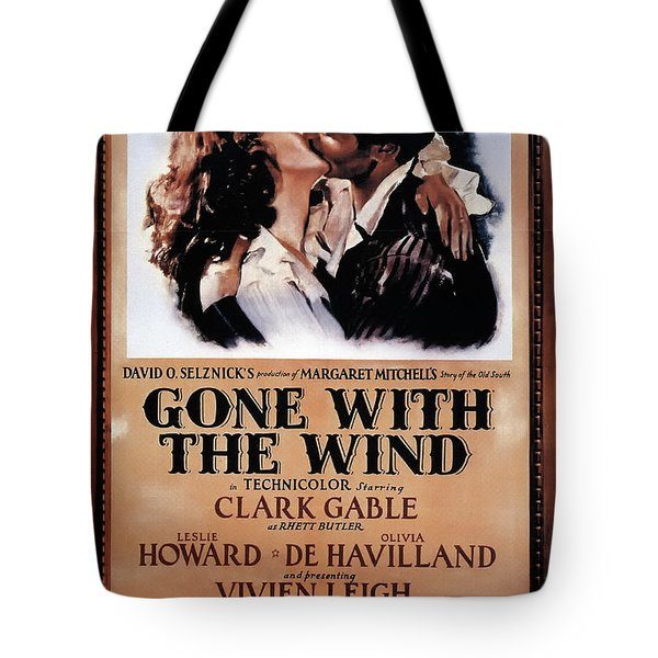 Gone With The Wind 1939 Tote Bag