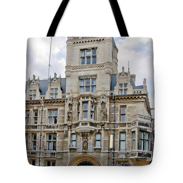 Gonville And Caius College. Cambridge. Tote Bag