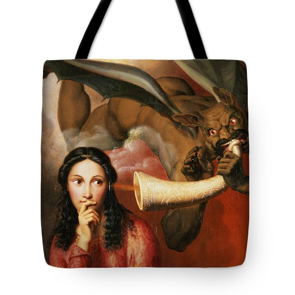 Good And Evil Tote Bag by AJV Orsel