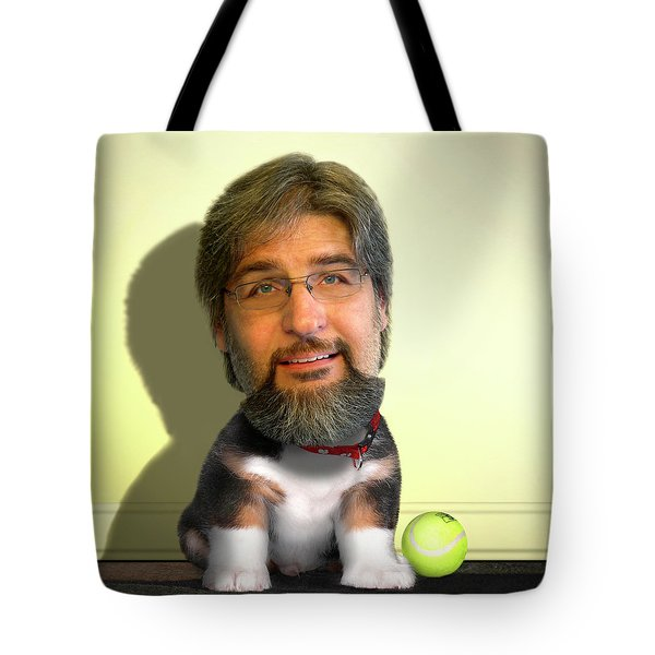 Good Boy Tote Bag by Mike McGlothlen