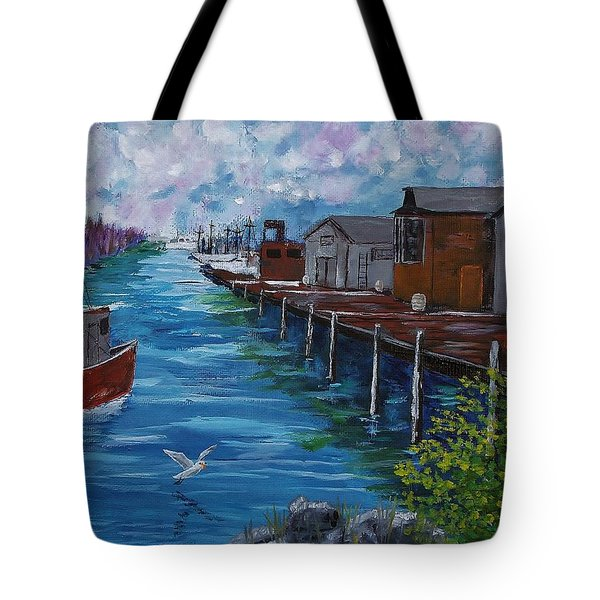 Good Day Fishing Tote Bag by Mike Caitham