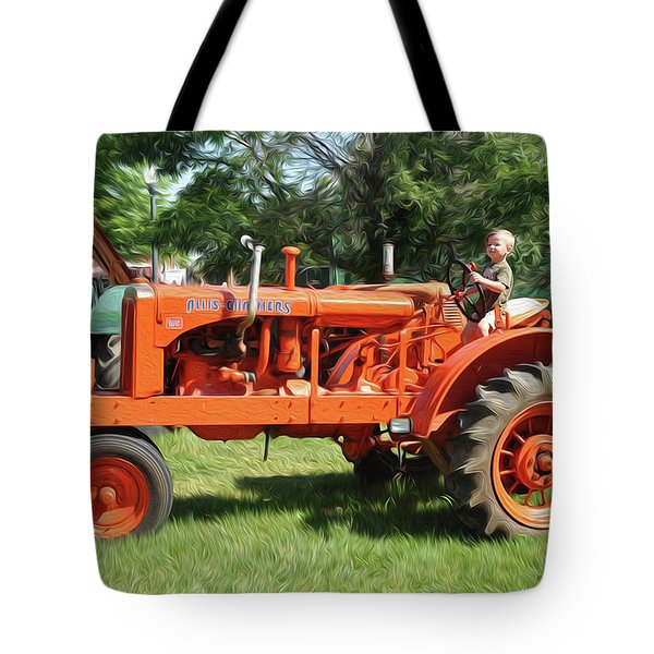 Good Day On The Farm Tote Bag
