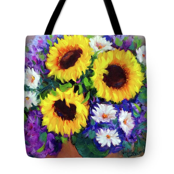 Good Day Sunflowers Tote Bag