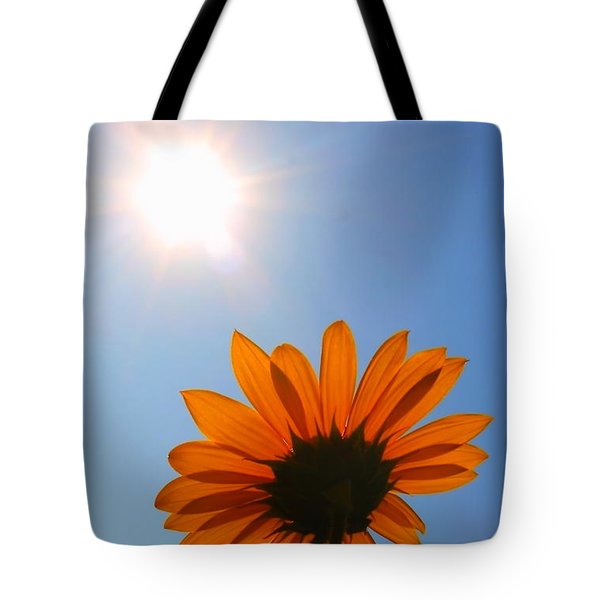 Tote Bag featuring the photograph Good Day Sunshine by Jesse Ciazza