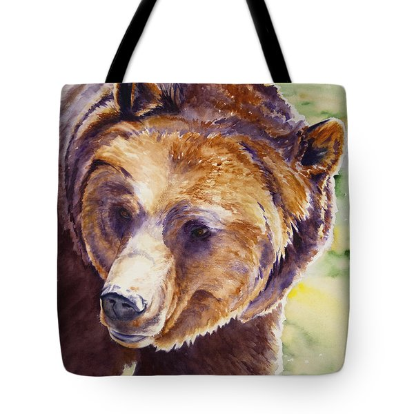 Good Day Sunshine - Grizzly Bear Tote Bag