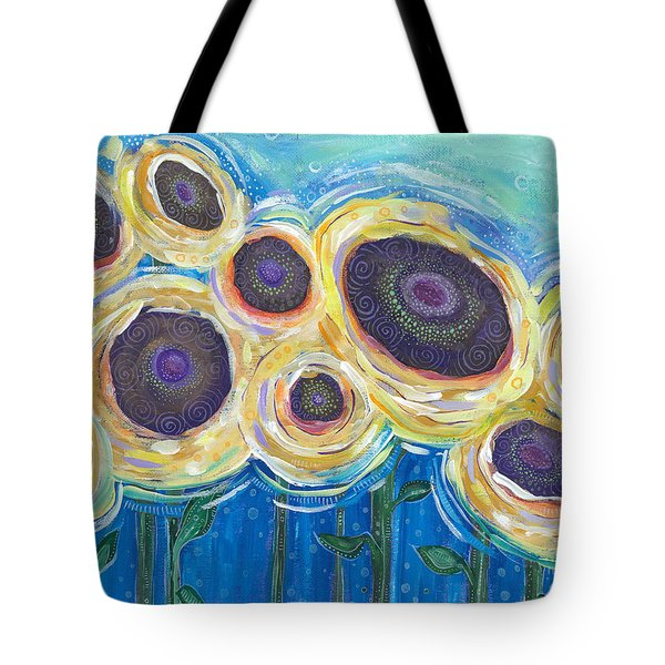 Tote Bag featuring the painting Wild And Free by Tanielle Childers