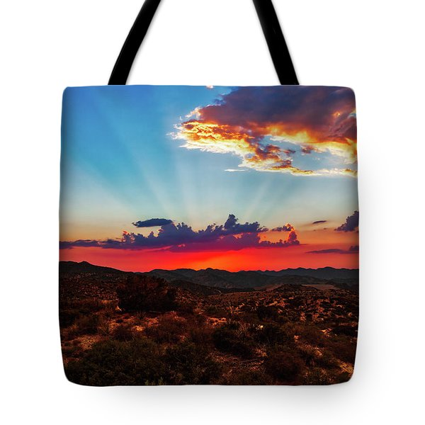 Tote Bag featuring the photograph Good Evening Arizona by Rick Furmanek