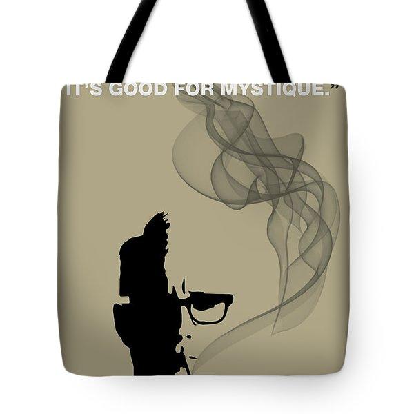 Good For Mystique - Mad Men Poster Roger Sterling Quote Tote Bag