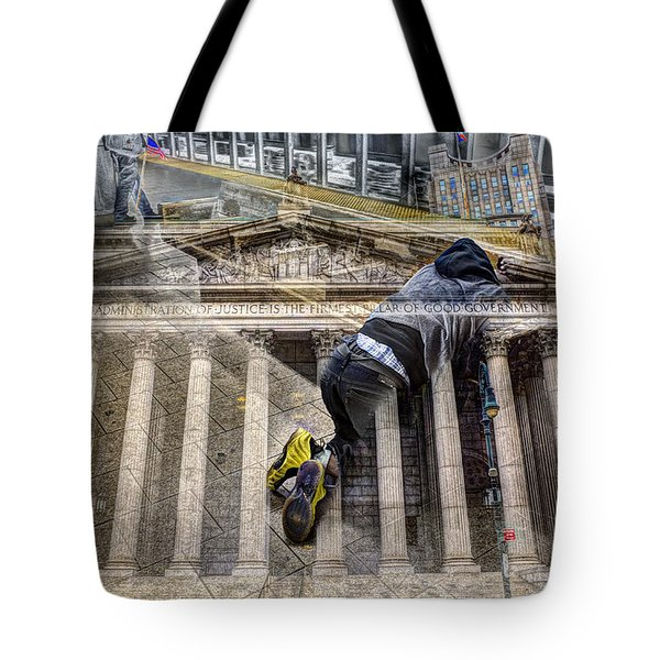 Good Government Collage Tote Bag