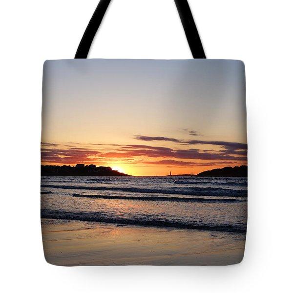 Good Harbor Beach At Sunrise Gloucester Ma Tote Bag