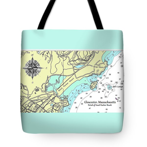 Good Harbor Beach Tote Bag