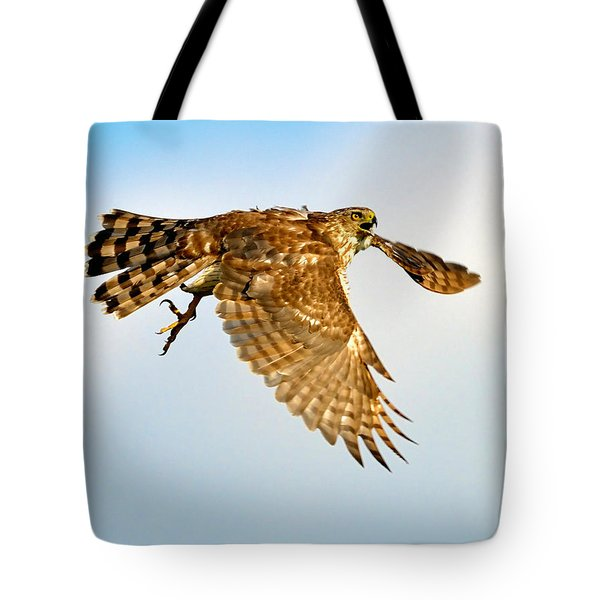 Good Hawk Hunting Tote Bag