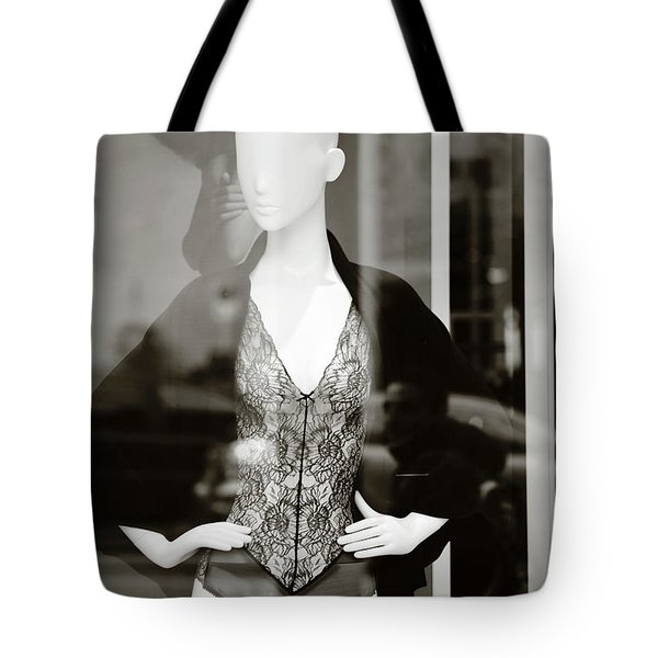 Tote Bag featuring the photograph Good Look Around by Empty Wall