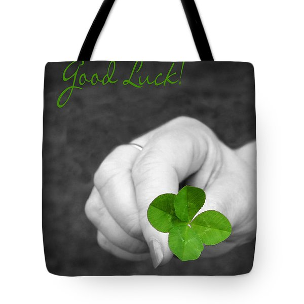 Good Luck Tote Bag by Kristin Elmquist