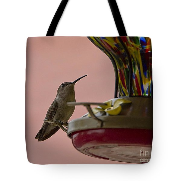 Good Morning Tote Bag by Anne Rodkin