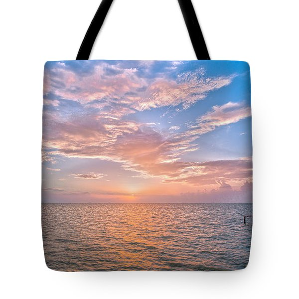 Good Morning Aransas Bay Tote Bag