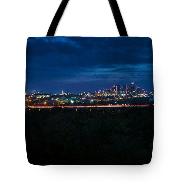 Good Morning Austin Tote Bag